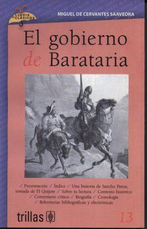 13 EL GOBIERNO DE BARATARIA editorial trillas