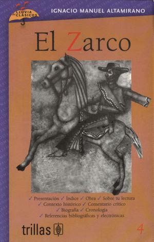 4 EL ZARCO editorial trillas