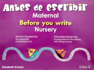 Aprendo a escribir maternal editorial trillas