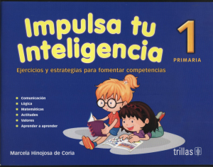 Impulsa tu inteligencia 1 editorial trillas