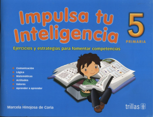 Impulsa tu inteligencia 5 editorial trillas
