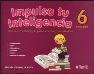 Impulsa tu inteligencia 6 editorial trillas
